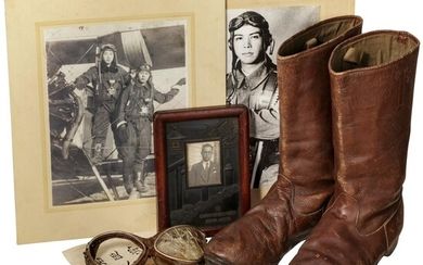 A legacy of the Japanese fighter pilot Matsuo Matsuda killed in action in World War II