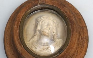 ANTIQUE FRENCH RELIQUARY CHRIST