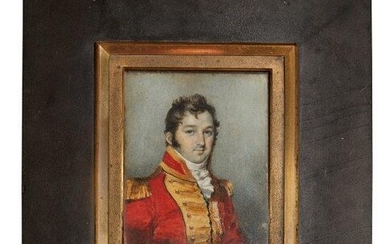 British School, early-mid 19th century- Portrait miniature...