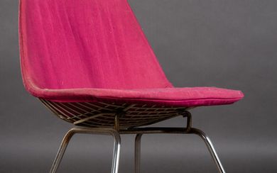 Charles & Ray Eames, Herman Miller, Stuhl / Lounge Chair, Wire Chair / H-Base, 1950er Jahre