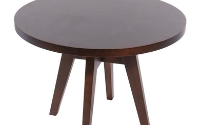 Christian Liaigre Style Round Occasional Table