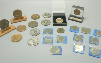 Collection of 24 Old Medals