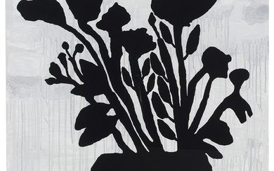 Donald Baechler: Flowers in a Vase