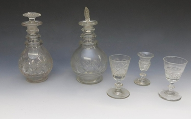 EARLY CUT GLASS GROUP