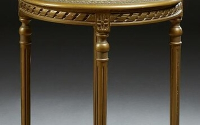 French Empire Style Beech Louis XVI Style Marble Top