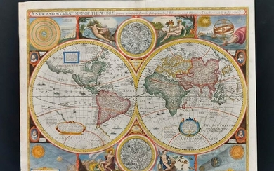 """John Speed (1522-1629) """"A new and accurate map of the..."""