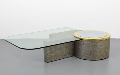 Large Coffee Table, Manner of Karl Springer
