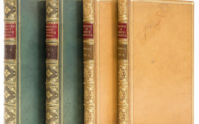 North America.- Domenech (Abbé Emmanuel) Seven Years' Residence in the Great Deserts of North America, 2 vol., first edition, 1860 & another, America (4)