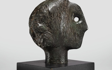 STUDY FOR HEAD OF THE QUEEN NO. 2, Henry Moore