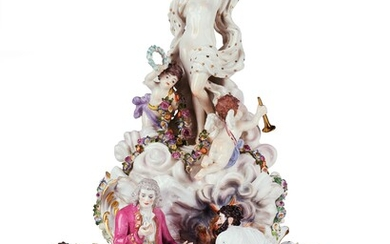 """The Making of Porcelain"" - A Very Rare and Historically Important Group of Figures"