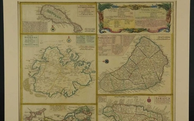 Various. 2 maps of the West Indies. c.1740/1817.