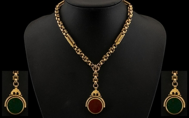 Victorian Period 1839-1901 Superb Quality 9ct Gold Fancy Orn...