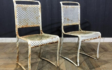 Wrought Iron Bistro Chairs