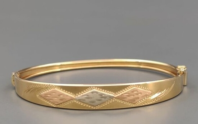 18 kt. Pink gold, White gold, Yellow gold - Bracelet
