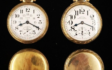 2 Railroad Type Watches