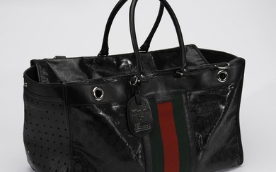 A SPECIAL EDITION PET CARRIER BY GUCCI