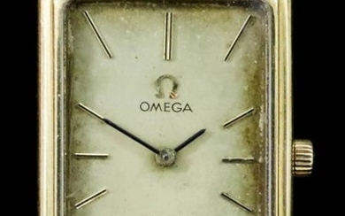 An Omega De Ville Wristwatch, 20th Century, 18ct Gold...