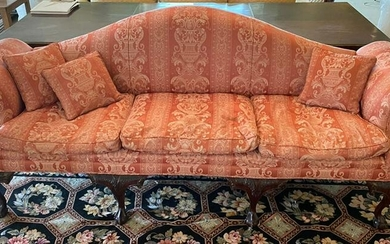 Antique 6 Leg Chippendale Couch / Settee
