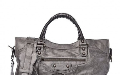 Balenciaga - Agneau Classic City Anthracite Clutch bag
