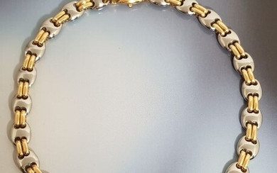 Bvlgari - 18 kt. Steel, Yellow gold - Necklace