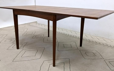 Danish Modern Teak Dining Table with Revolving Top. Mid