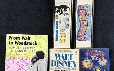 Disney Book And Bookmark Lot Softcover