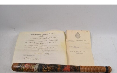 FASCINATING PROVENANCE! VICTORIAN SHROPSHIRE CONSTABULARY co...