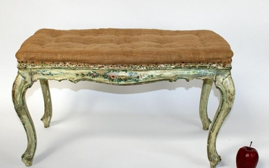 French Louis XV style backless bench