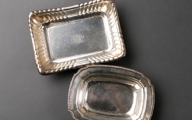Group 2 Sterling Pieces, Serving Bowls