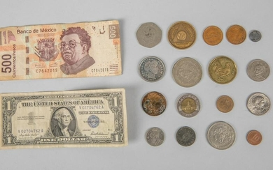 Group of Coins Collection