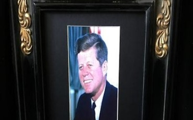 JOHN F KENNEDY (1917-1963). Elected in 1960 as the...