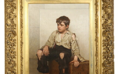 JOHN GEORGE BROWN (NY/CA, 1831-1913)
