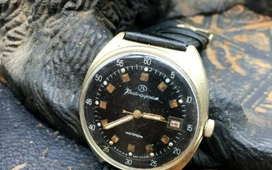 Komandirskiye vintage men wrist watch / Russian antique