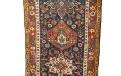 North West Persian Runner, ca. 1900; 12 ft. 8 in. x 3
