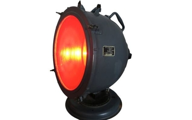 Original Military Airport Lamp – Aviation Design - Industrial lamp