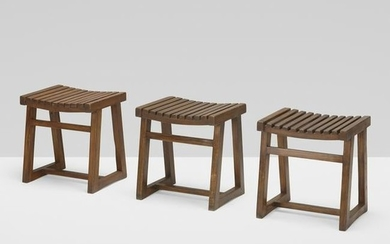 Pierre Jeanneret, Box stools from the Private