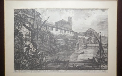 Piranesi, Giovanni: THE CLOACA MAXIMA, Year 1778