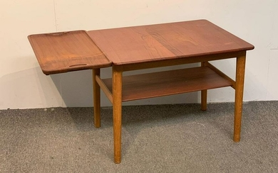 Rare Hans Wegner Occasional Table With Tray