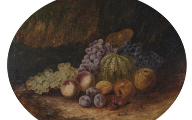 STILL LIFE PAINTER. FRUIT STILL-LIFES. 64 X 75...