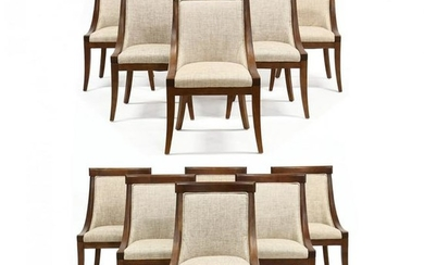 Set of Twelve Contemporary Neoclassical Style Chairs