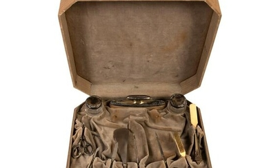 Sterling Silver Antique Handled Boxed Manicure Set