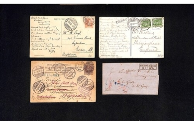 T.P.Os / Lake Mail. 1864-1939 Covers and cards with various ...