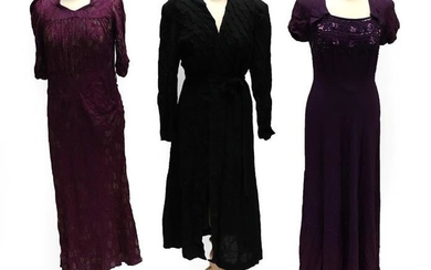 Three Items of Circa 1920's and 1930's Ladies' Evening Wear,...