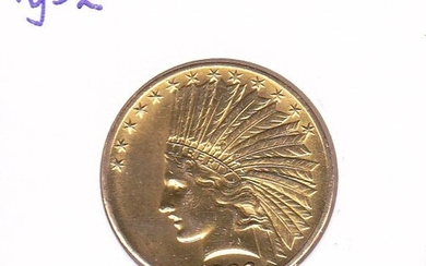 United States - 10 Dollars 1932 Indian Head - Gold