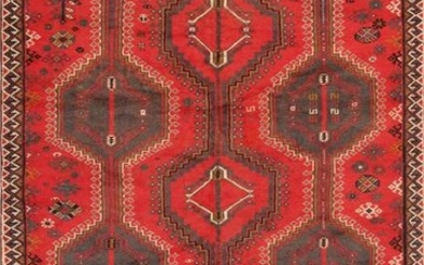 Vintage Shiraz Colletion Hand-Knotted Lamb's Wool Area