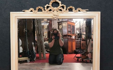 Wall mirror - Louis XVI Style - Lacquered wood - First half 20th century