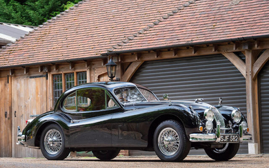 1955 Jaguar XK140 SE Coupé, Registration no. SJF 582 Chassis no. S804459