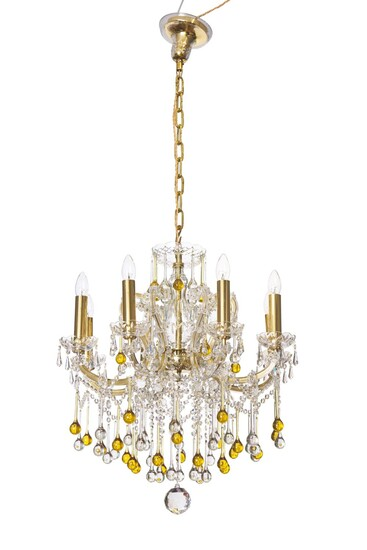 A BOHEMIA MARIE THERESE CHANDELIER