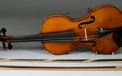 A French JTL Full Size Violin, Late 19th Century,...
