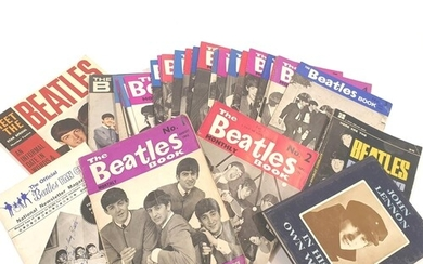 A collection of fanzines to include twenty-eight 'The Beatle...